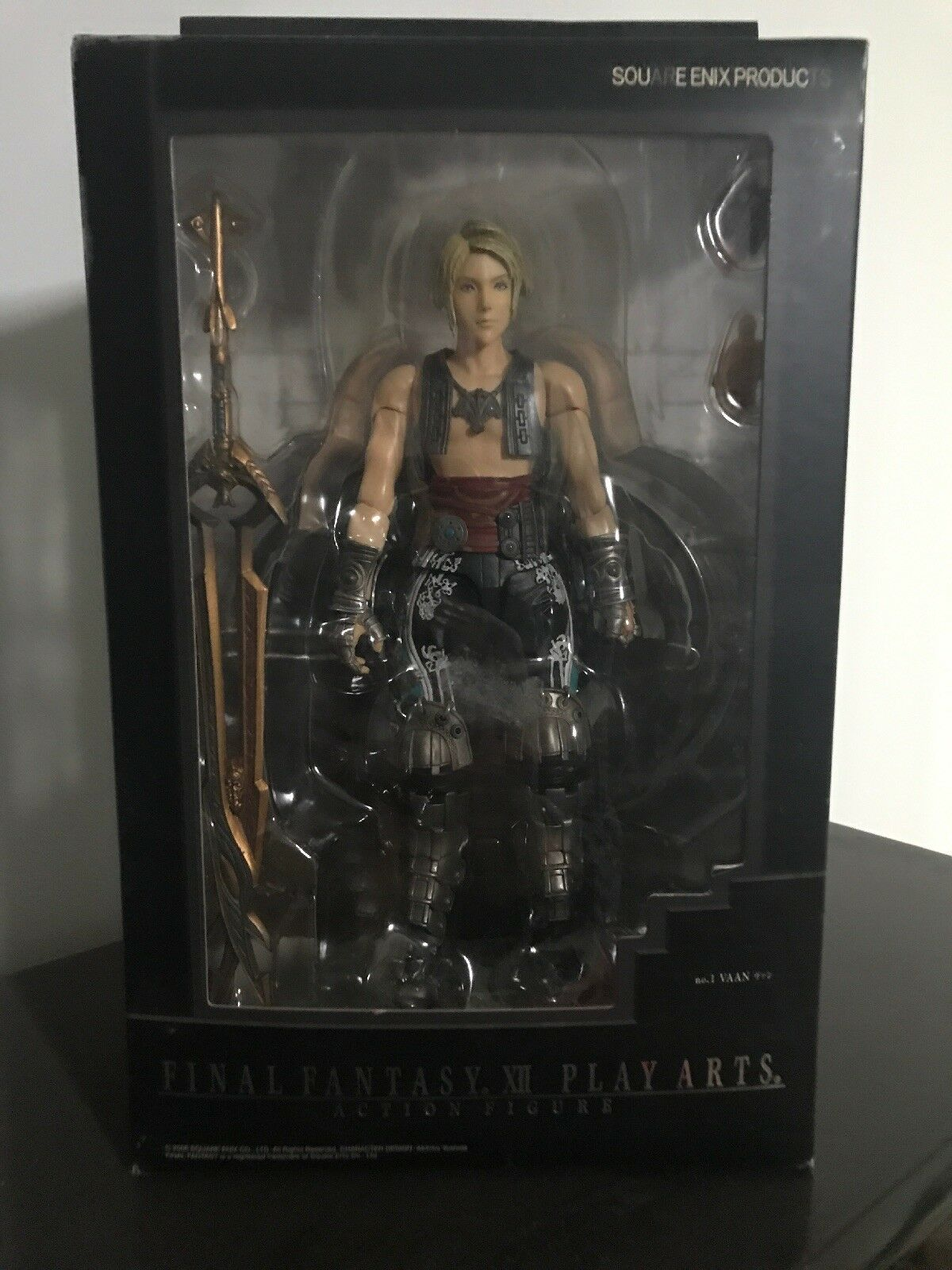 FINAL FANTASY XII 12 - Vaan PLAY ARTS ACTION FIGURE SQUARE ENIX