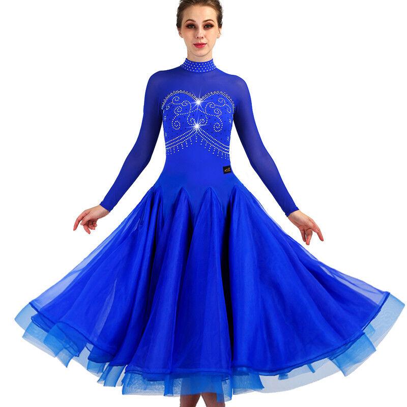 NEU Latino salsa Kleid TanzKleid Standard LatinaKleid Latein Turnierkleid FM353