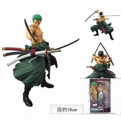 Aufstrebend One Piece Zorro Zoro Heroes Vah Anime Manga Figuren H:18cm Neu