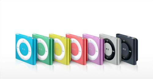 Geniune Apple iPod Shuffle 4th Gen 2GB Random Colors *NEW!* Warranty!