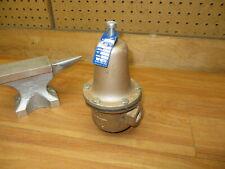 Watts M2m3 Water Pressure Reducing Valve 223 Range 25 75 Nice 12 Npt Brass