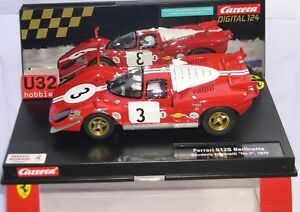 Diligent Carrera Exclusiv 23856 Ferrari 512s Berlinetta #3 Sc Filipinetti Digital 1/24 Mb