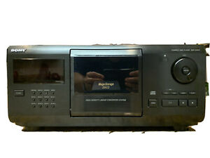 Sony-Mega-Storage-200-Disc-CD-Changer-Player-CDP-CX205-With-Remote-TESTED