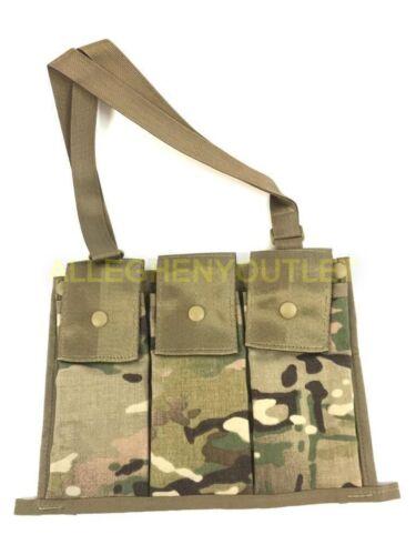 US Military MOLLE II 6 Mag Bandoleer Ammo Magazine Pouch OCP MULTICAM NEW