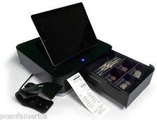 Star Micronics MPOP Terminal Scanner Printer Cash Drawer Tablet Stand Black NEW