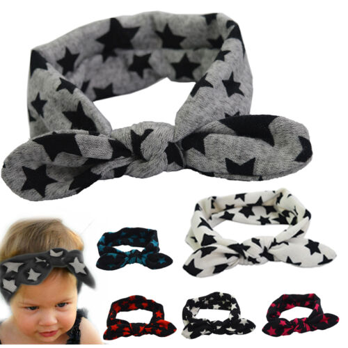 Headband Star Hot Hair Band Accessory New Elastic Headwear Cotton Toddler Baby j