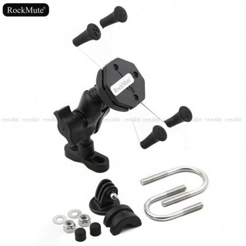 For Kawasaki Ninja 250 300 R EX Phone Navigation Sport Camera Charger Stay Mount