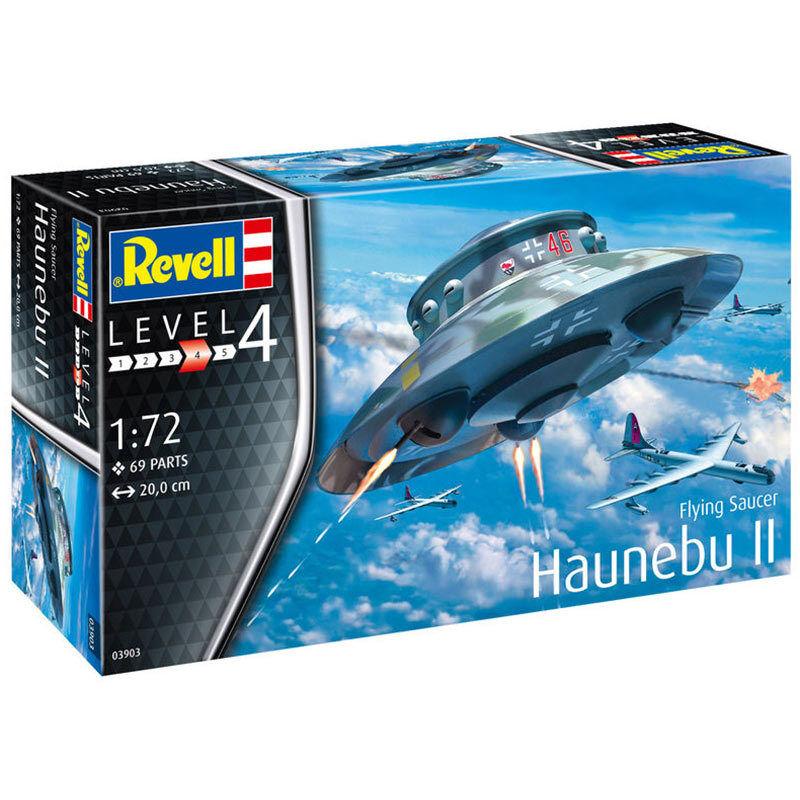 REVELL Flying Saucer Haunebu II 1 72 Aircraft Model Kit 03903