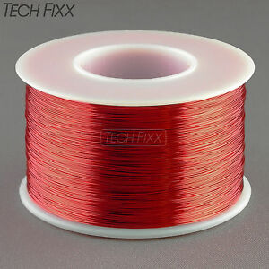 Magnet wire 28 gauge awg enameled copper 1000 feet coil winding 155c image is loading magnet wire 28 gauge awg enameled copper 1000 keyboard keysfo Images