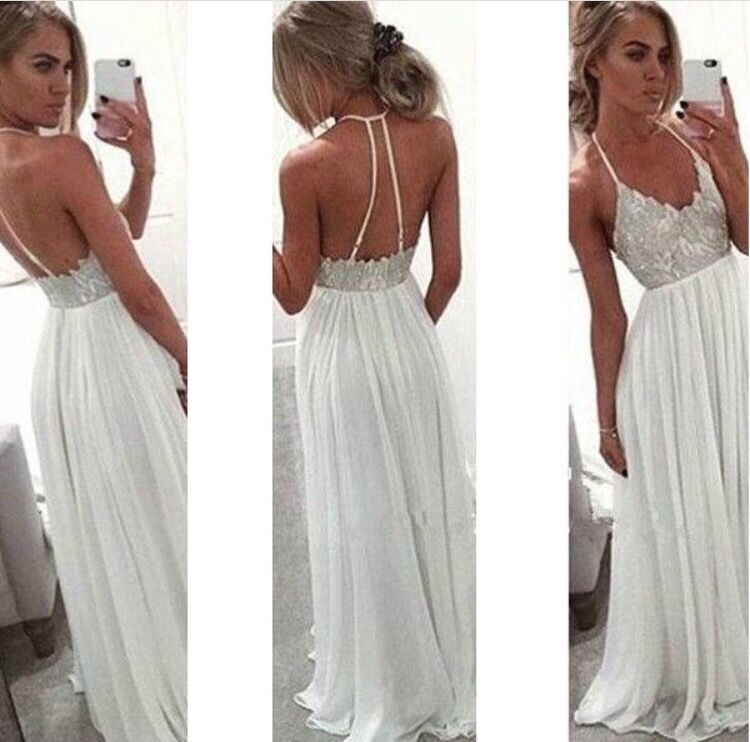 White Sparkle Prom Dress Size 8 Never Been Worn