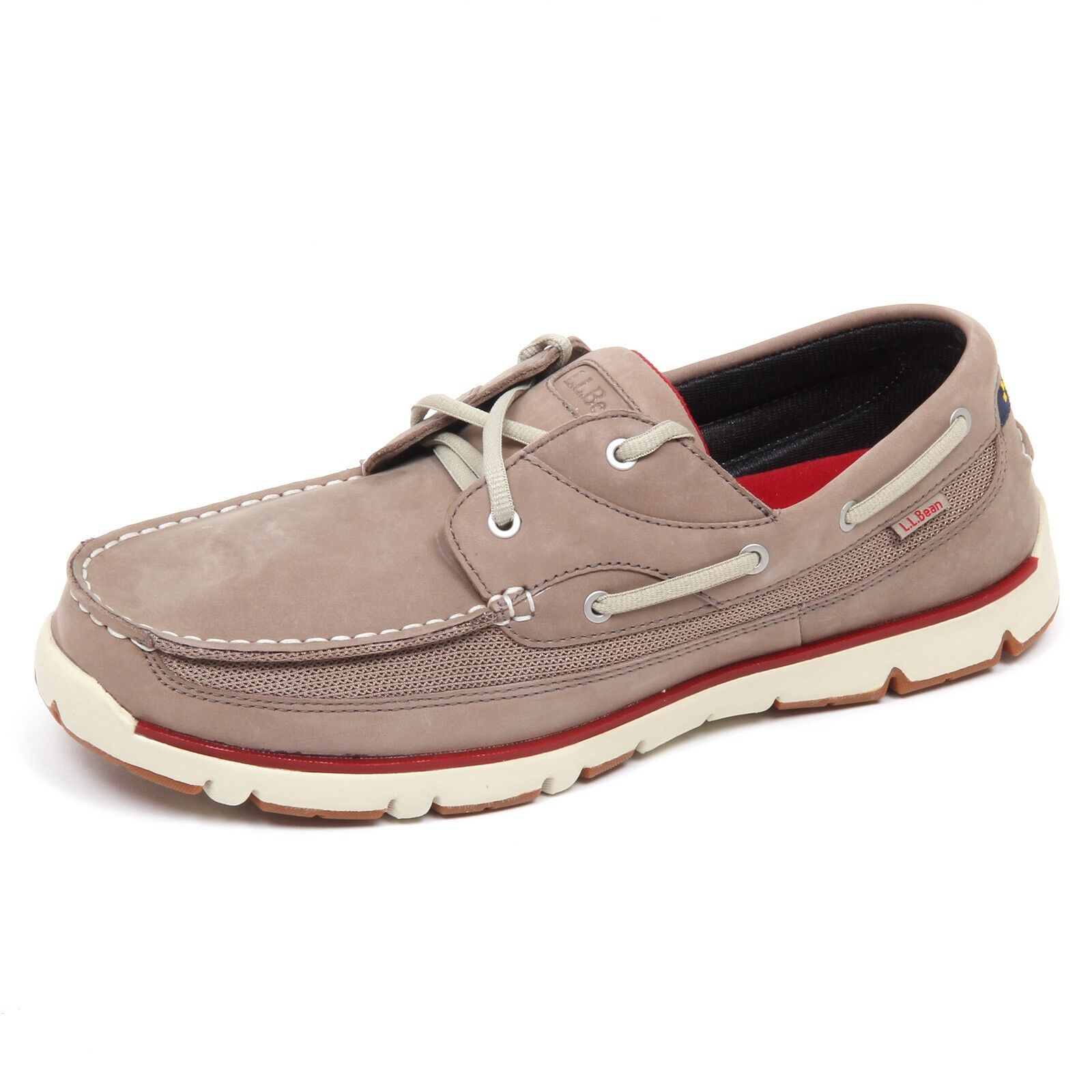 D5048 (SAMPLE NOT FOR SALES WITHOUT BOX) mocassino uomo taupe L.L.BEAN shoe man