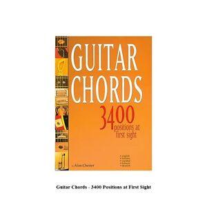 Guitar Chords 3400 Positions at First Sight PRONTUARIO ACCORDI PER CHITARRA