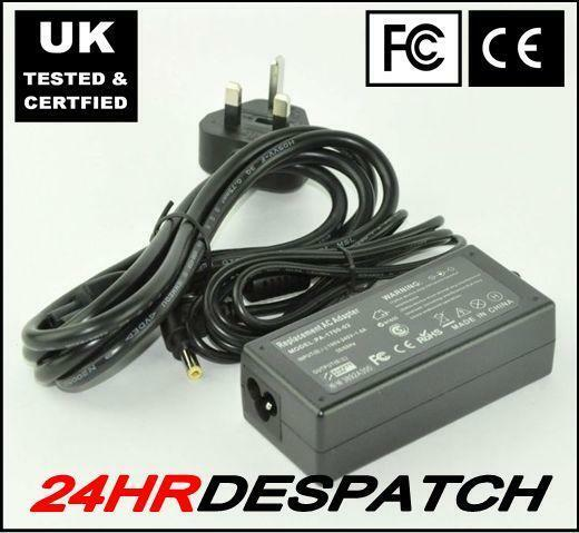 Laptop Charger AC Adapter for Toshiba Satellite 1730CDT 1755CE with Lead