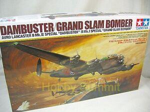 Tamiya-1-48-LANCASTER-B-Mk-I-III-Special-GRAND-SLAM-DAMBUSTER-Bomber-61111