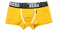 Pink Hero Men's  Boxer  Shorts Underwear Pants Underpants  UK size L/ YELLOW