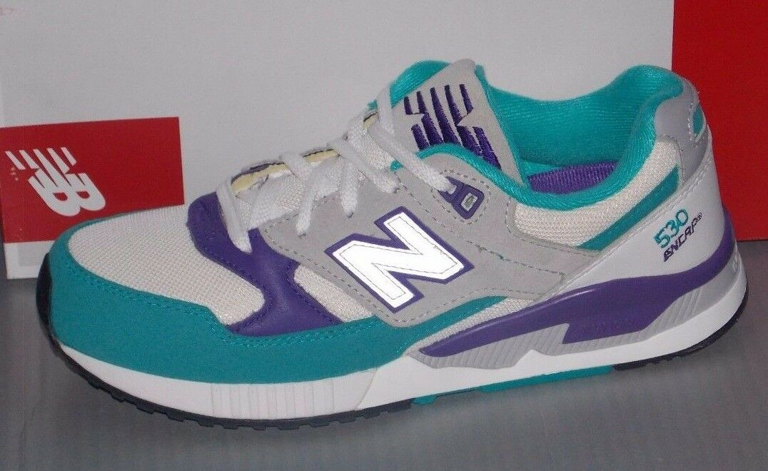 Damenschuhe NEW BALANCE W 530 AAA in colors WEISS / TEAL / GREY SIZE 7.5