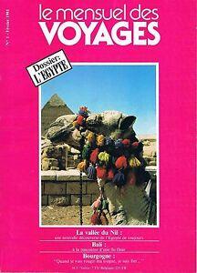 Copieux Le Mensuel Des Voyages N°1 Fev 1981: Nil Bali Bourgogne