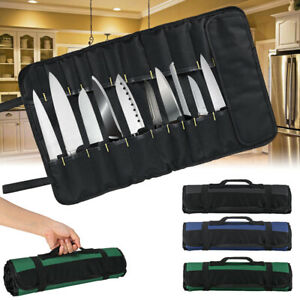 22-Pockets-Portable-Carry-Kitchen-Chef-Knife-Roll-Bag-Cutlery-Storage-Case-New