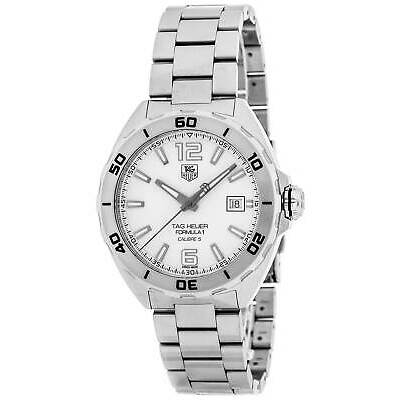 TAG HEUER FORMULA 1 CALIBRE 5 WHITE DIAL AUTOMATIC MEN'S WATCH WAZ2114.BA0875