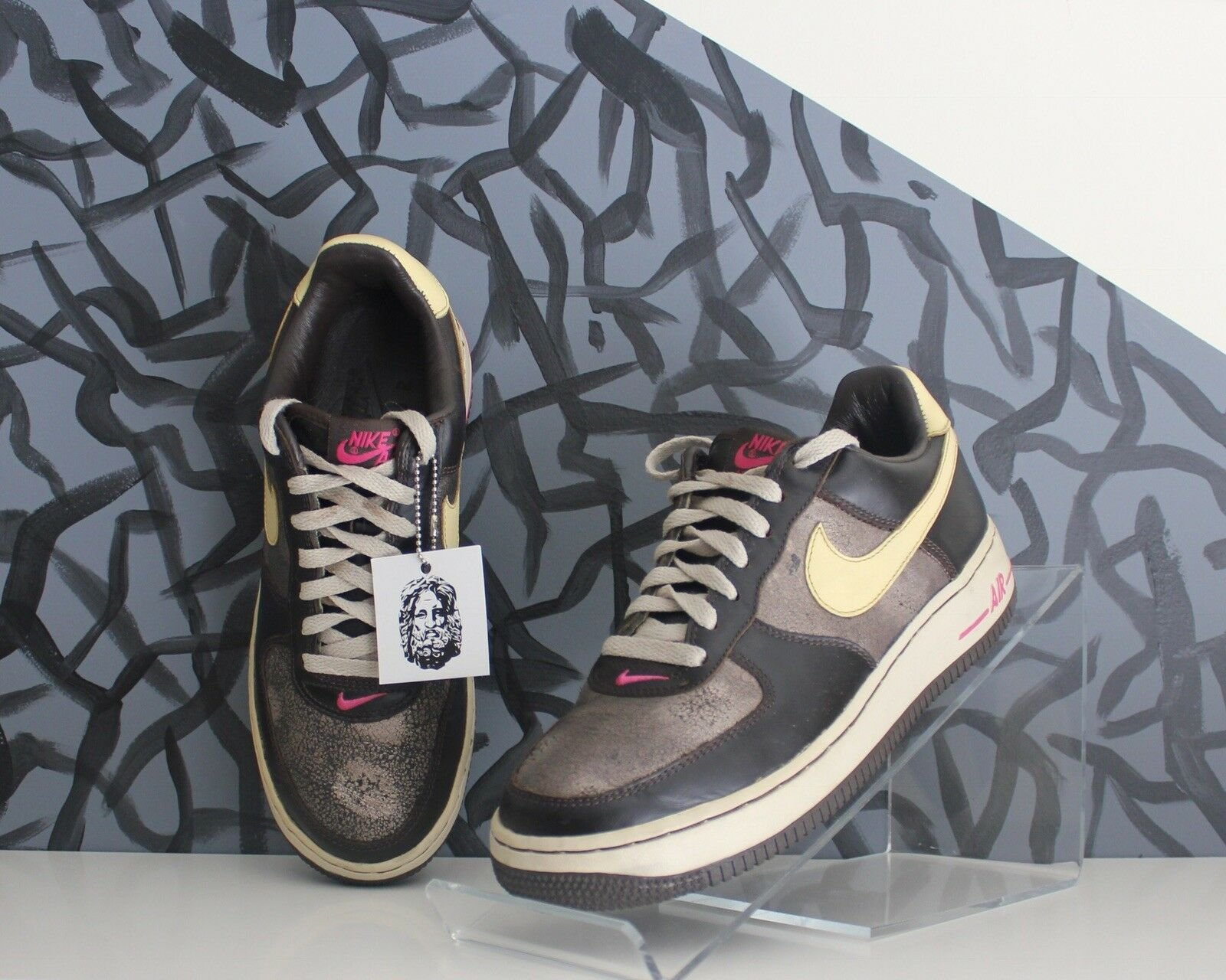 Vintage Nike Air Force Low Low Force Premium Womens Limited Classic OG Streetwear Rare 8.5 1838f5