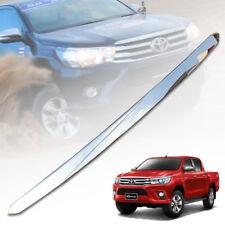 2015-On # Chrome Bonnet Mould For Toyota Hilux Tgn//Kun//Ggn