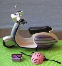 LIV FASHION DOLL Purple Scooter Vespa-Like Vehicle w/Helmet Set Bratz/Barbie/etc