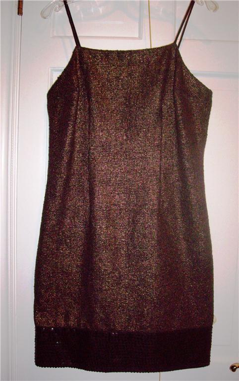 Nwt Tracy Reese Plenty Gehrock  Pailettenrand Kleid Größe 10