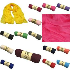HOT-women-long-candy-colors-soft-cotton-Scarf-Wrap-Shawl-scarves-fashion-New-JS