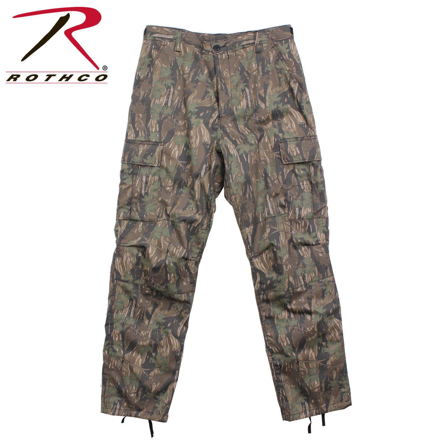 Smokey Branch Camouflage Military BDU Cargo Polyester Cotton Fatigue Pants 8855
