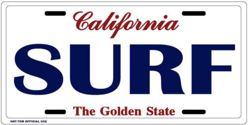 California Surf License Plate 3219