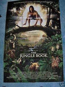 The jungle book 1994 poster