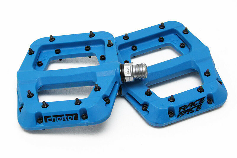 New Race Face Chester Pedal bluee DH Downhill Mtb Mountain Bike Pedal