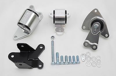 1320 Performance CRV Billet BLK motor mounts mount kit RD1 1997-2001 B20 65A Ver