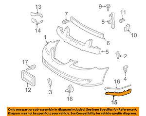 image is loading toyota-oem-07-08-solara-front-bumper-spoiler-