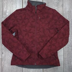 The North Face Apex Bionic II Soft Shell Jacket Womens Small Floral Long Sleeve