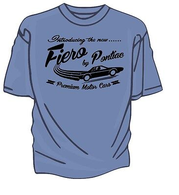 """introducing The New"" Fiero By Pontiac Retro T-shirt."