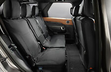 The All-New Land Rover Discovery 5 - Rear Ebony Seat Covers - VPLRS0336PVJ