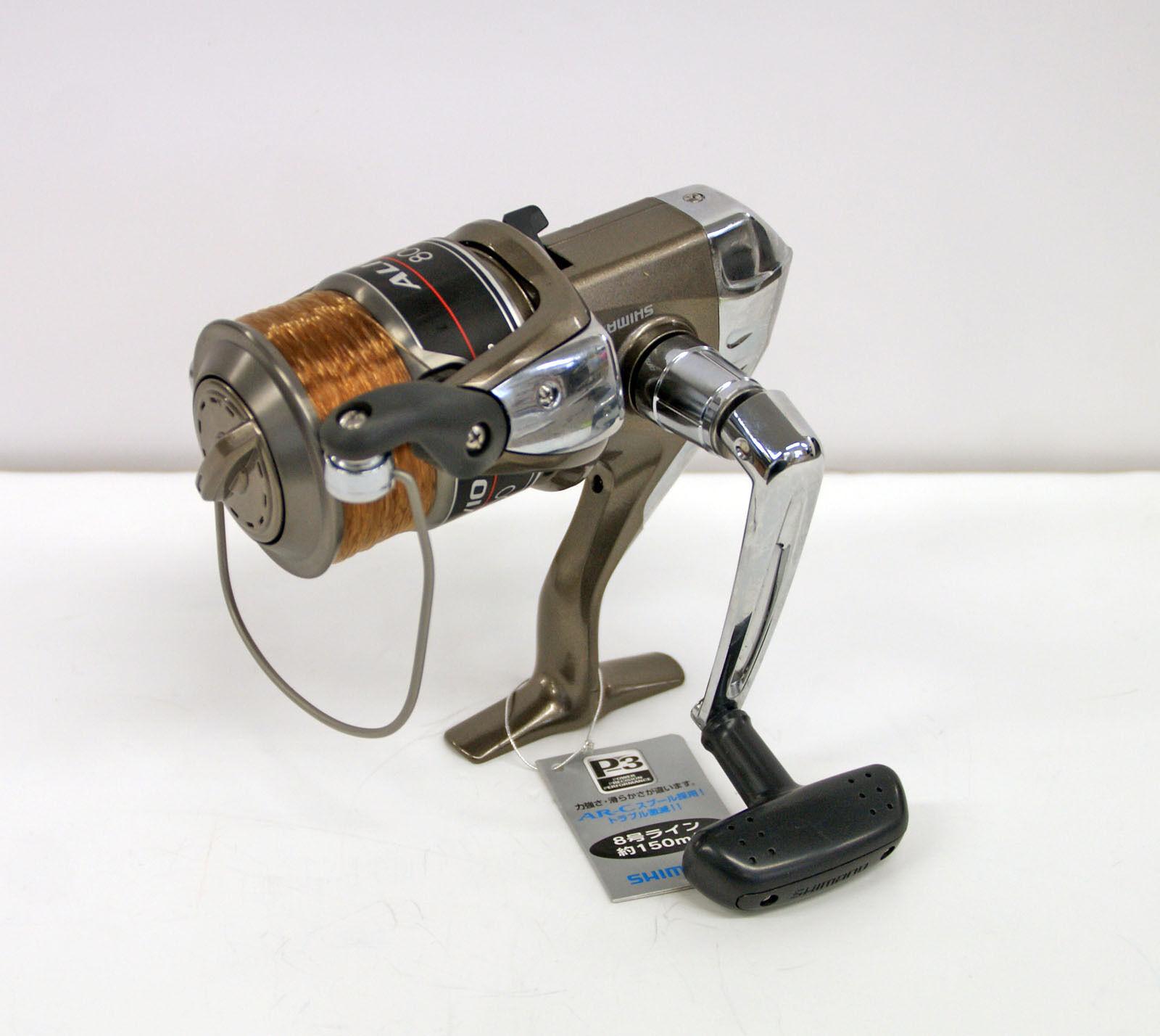 Shimano ALIVIO 8000 (w  Line) Spinning Reel 4969363027764