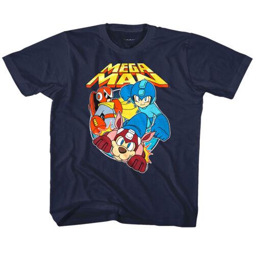 MegaMan Rockman /& Rush Kids T Shirt Gaming Boys Girls Top Baby Youth Toddler