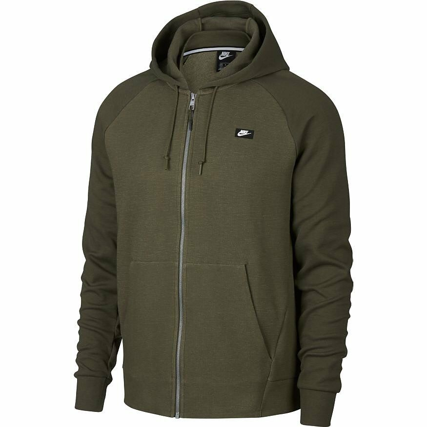 Nike Kapuzenjacke Sweatjacke Olive Heather 928475-395