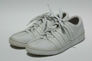 kswiss classic luxury white leather casual mens fashion
