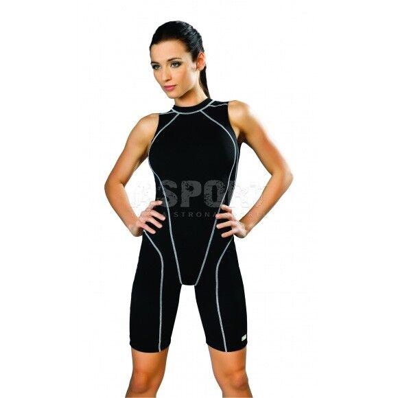 Colletto da DONNA COSTUMONE nuoto costume da bagno con gamba Daniela GWinner