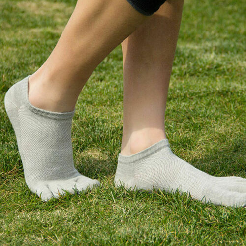 Men/'s five finger toe Breathe Socks Cotton Ankle Casual Sports SALE Hot