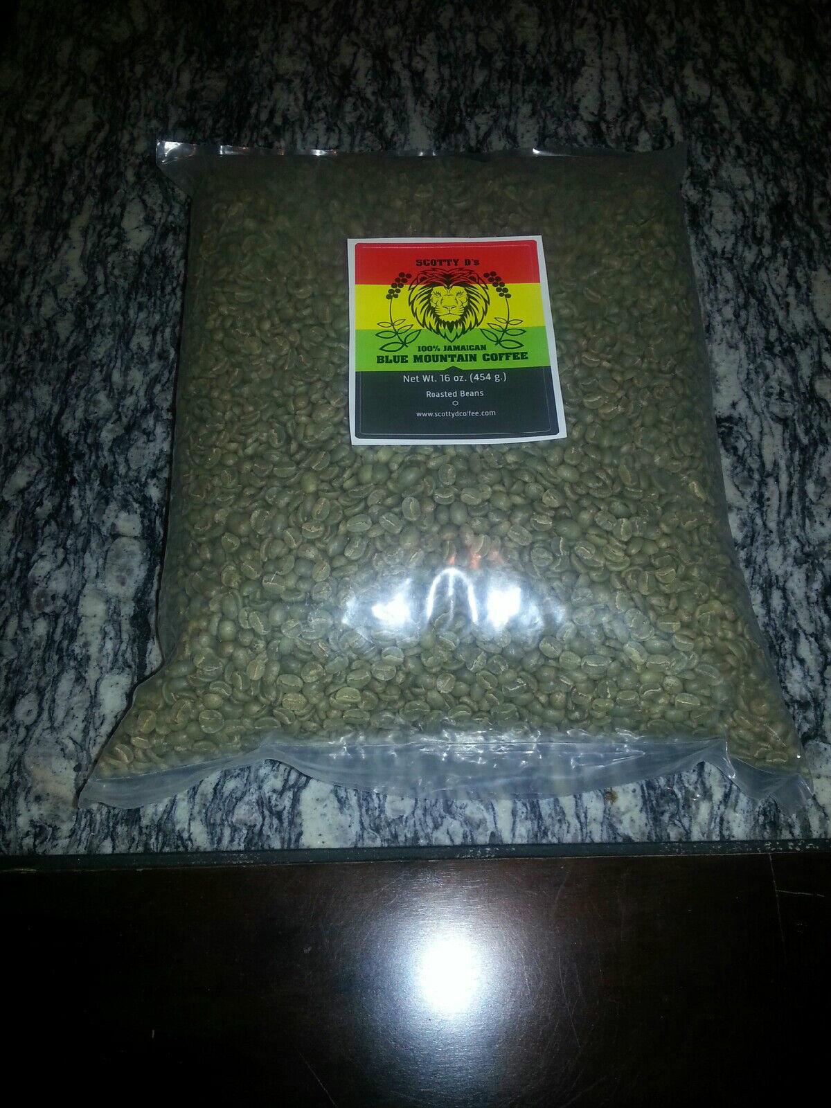 Scotty D 's - 10 lb (environ 4.54 kg) Vert Jamaican bleu Mountain grains de café