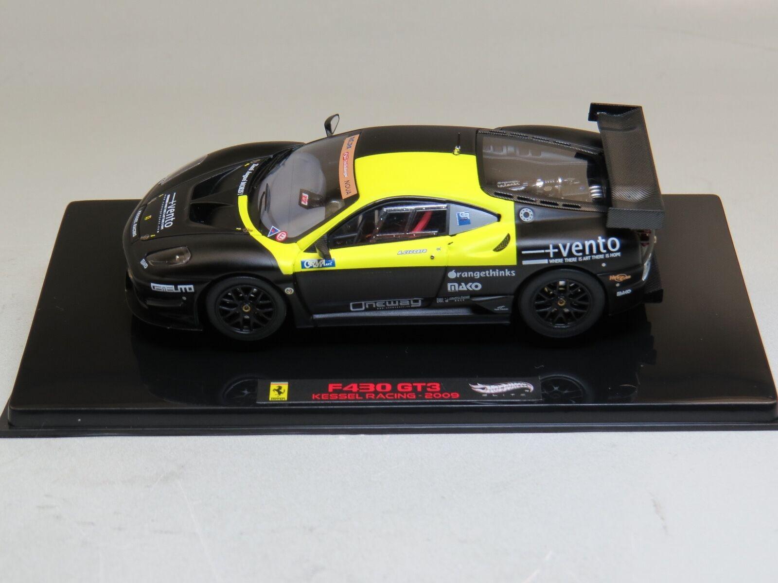 Ferrari F430 GT3 Kessel Racing - 2009 2009 2009 1 43 Hotwheels Elite 1a71f6