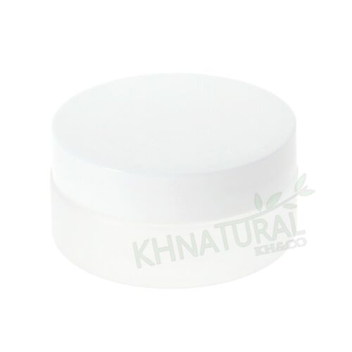 Metal Screw Lid Empty 3oz 80ml Frosted Translucent PET Jars w// Cap Plastic