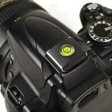 Hot Shoe Protector Cover mit Bubble Level für most DSLR / SLR Camera Kamera NEU