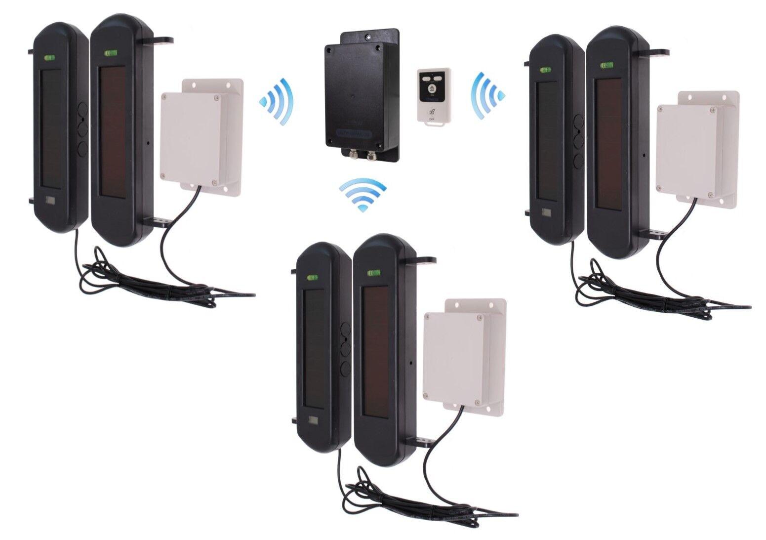 No requiere alimentación silenciosa 3G GSM Inalámbrico Kit alarma de perímetro 3