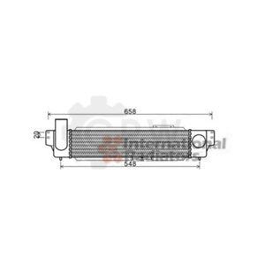 Dell-039-aria-di-radiatore-KIA-SORENTO-I-JC-2-5-CRDI-450-100-90