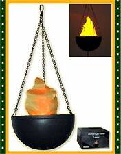 New Hanging Silk Flame Lamp Light Halloween Decoration